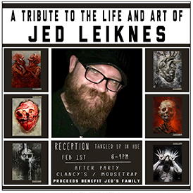 A Tribute to the Life & Art of Jed Leiknes